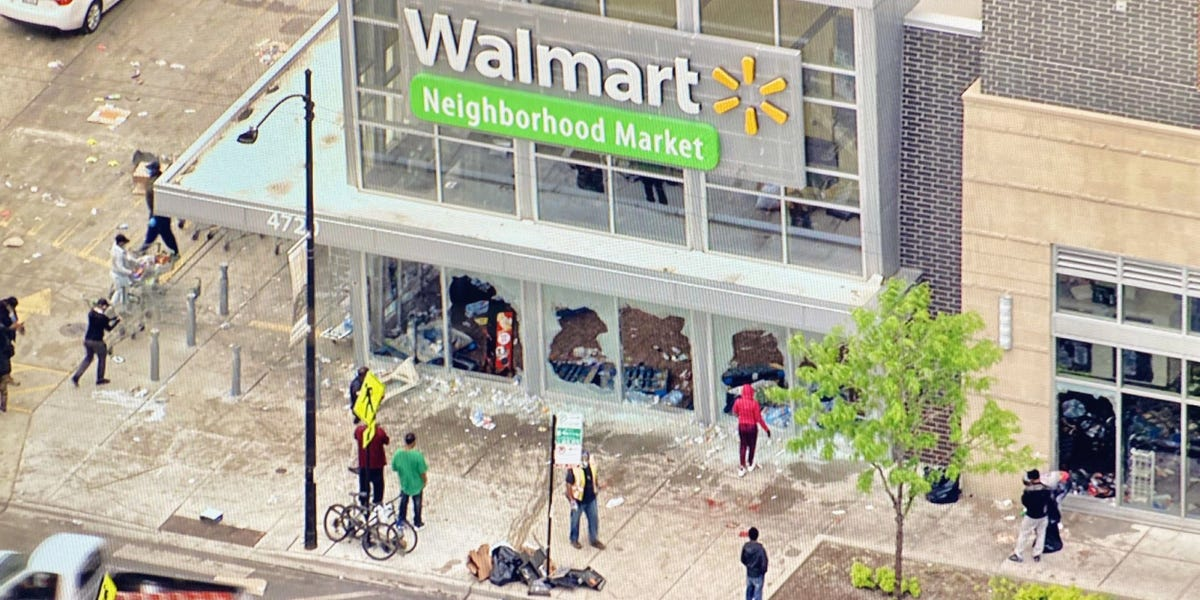 Walmart weighs whether to reopen all Chicago-area stores damaged by looting