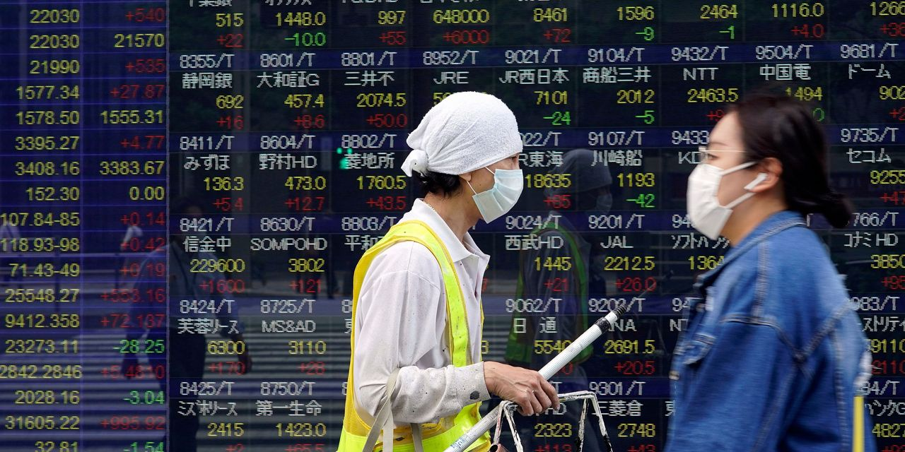 Global Markets Inch Higher; Chinese Stocks Lag Behind