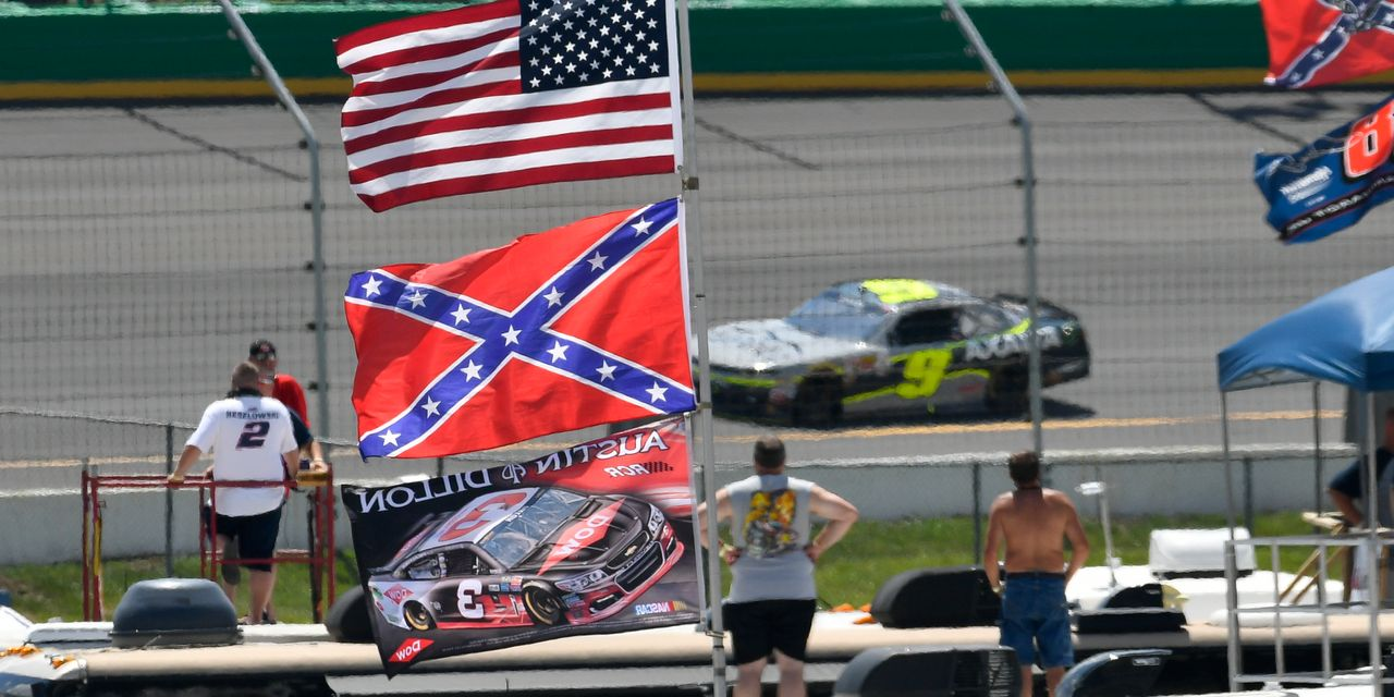 Nascar Bans the Confederate Flag From Its Races