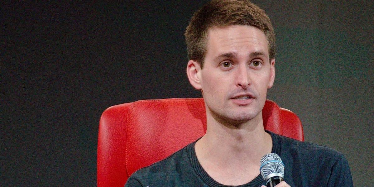 Evan Spiegel says releasing Snapchat diversity would reveal lack of diversity