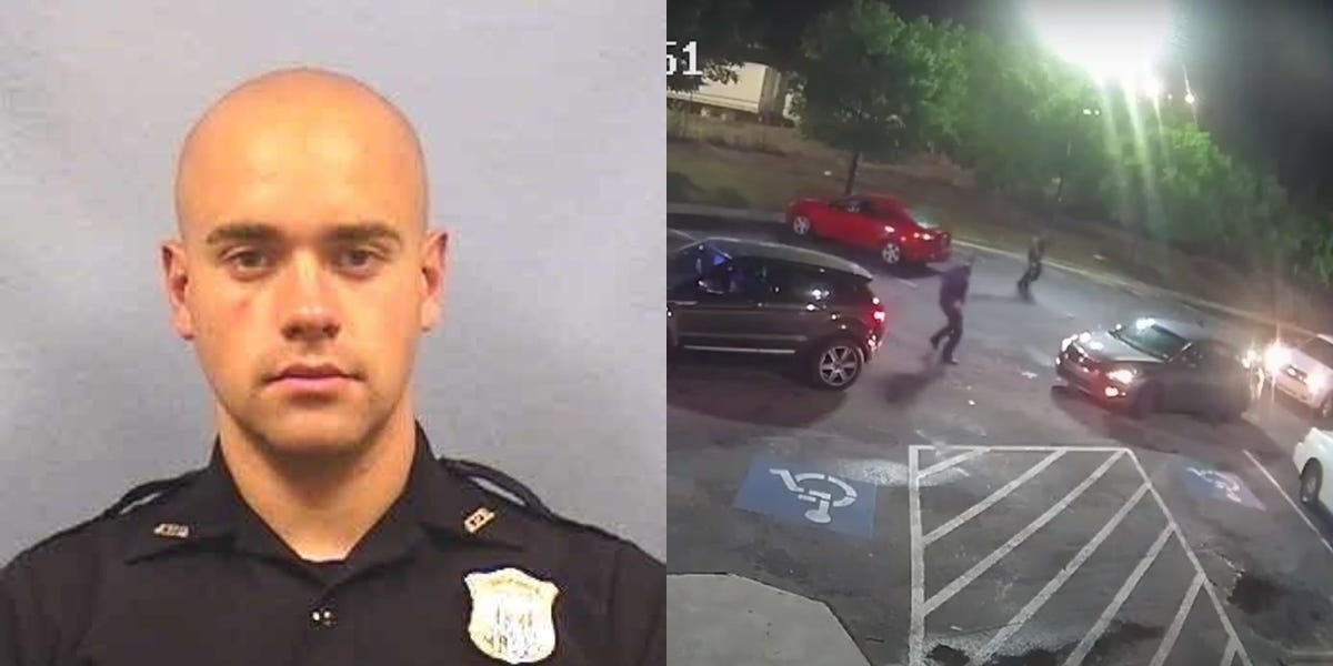 Atlanta police officer fired over fatal shooting of Rayshard Brooks