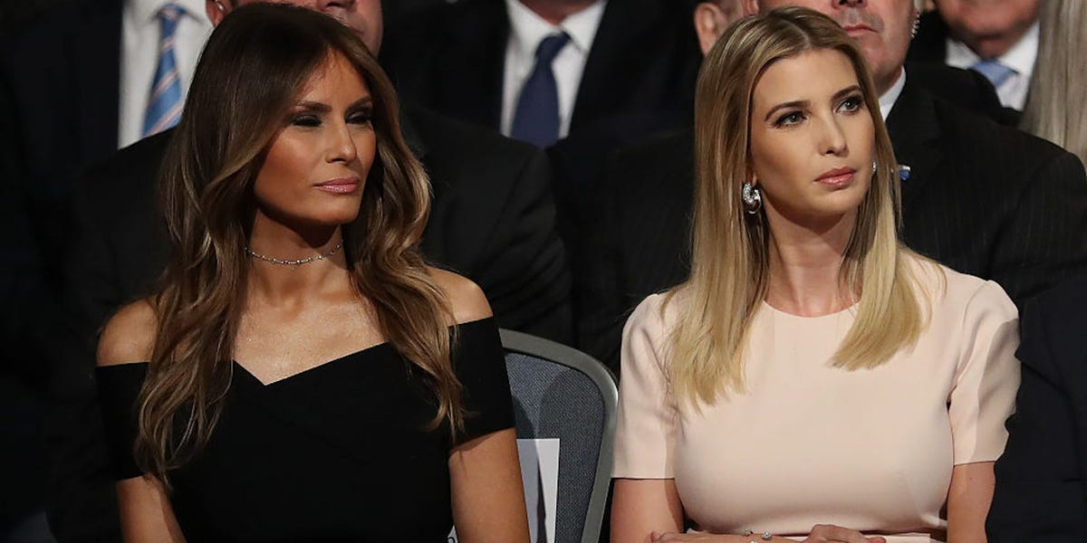 Ivanka Trump White House power grab was blocked by Melania Trump: Book