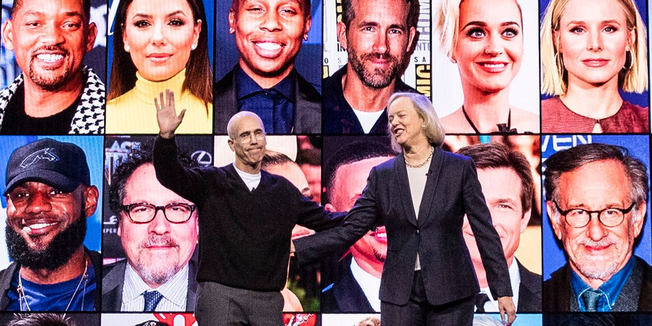 Jeffrey Katzenberg and Meg Whitman Struggle With Their Startup—and Each Other