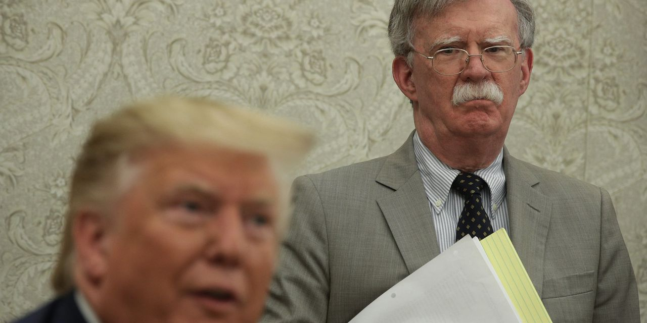 U.S. Files Breach-of-Contract Suit Against Ex-National Security Adviser John Bolton