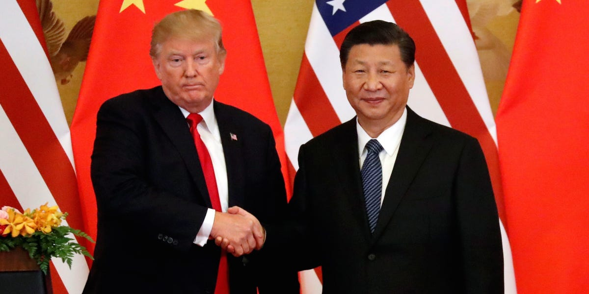We can all stop pretending Trump is tough on China now