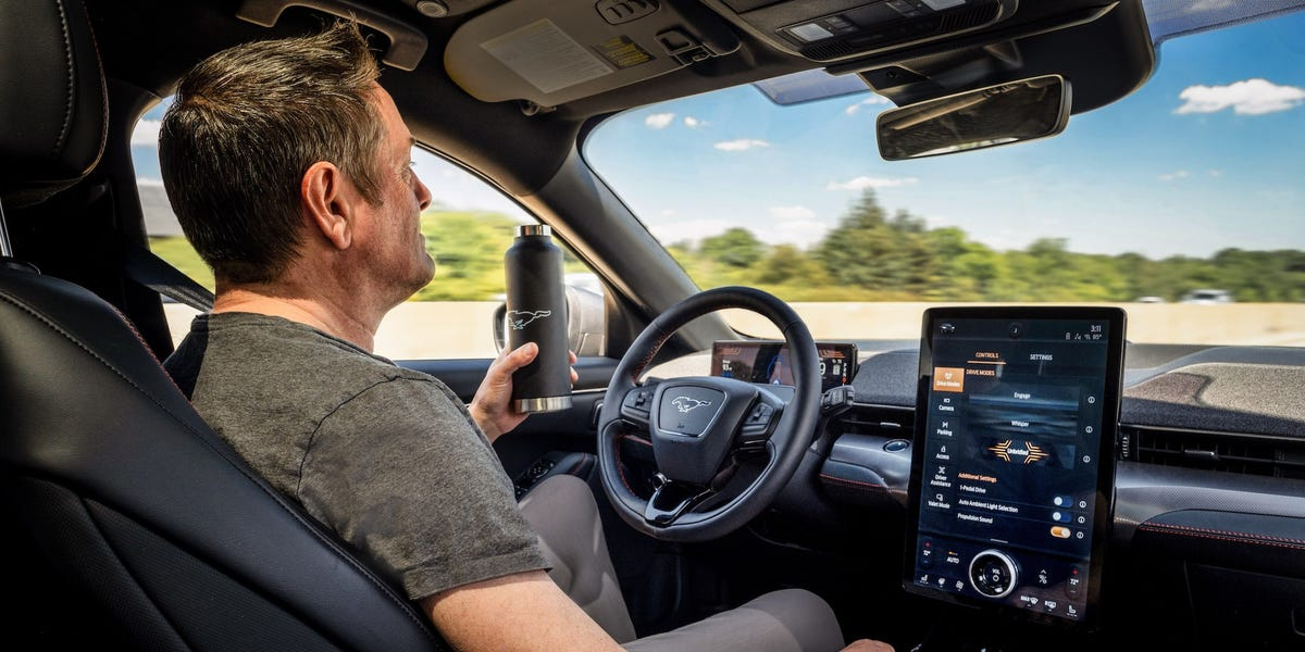 Ford Mustang Mach-E will have hands-free driving mode, compete with Tesla
