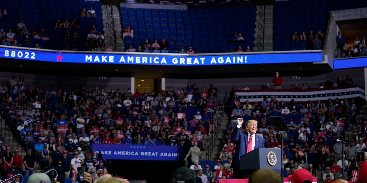 After Tulsa Rally, Trump Heads to Arizona, Wisconsin