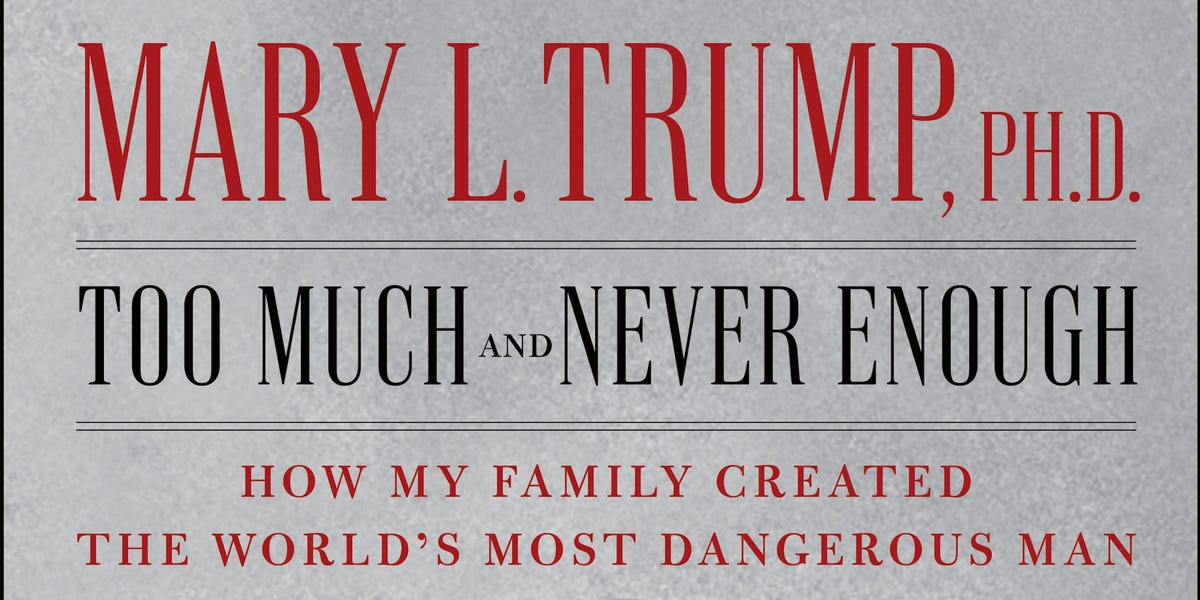Judge dismisses Trump family's lawsuit that tried to block Mary Trump's tell-all book