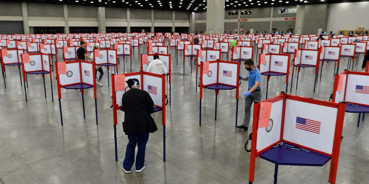 Kentucky election largely a success despite worries of suppression