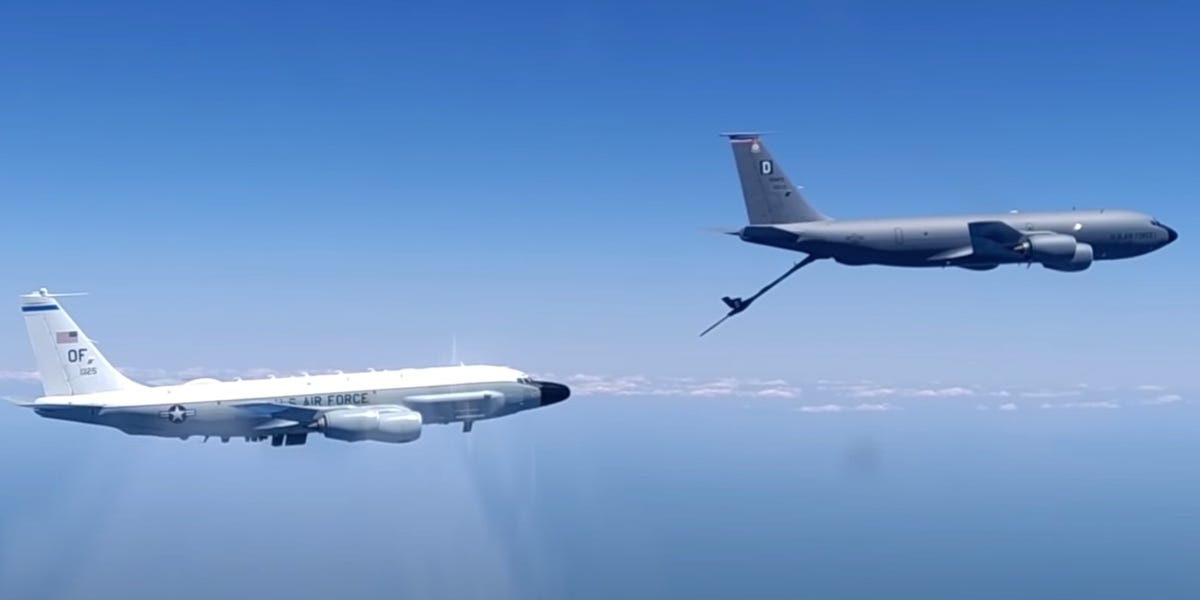 Russia posts video of intercept of US military aircraft over Black Sea