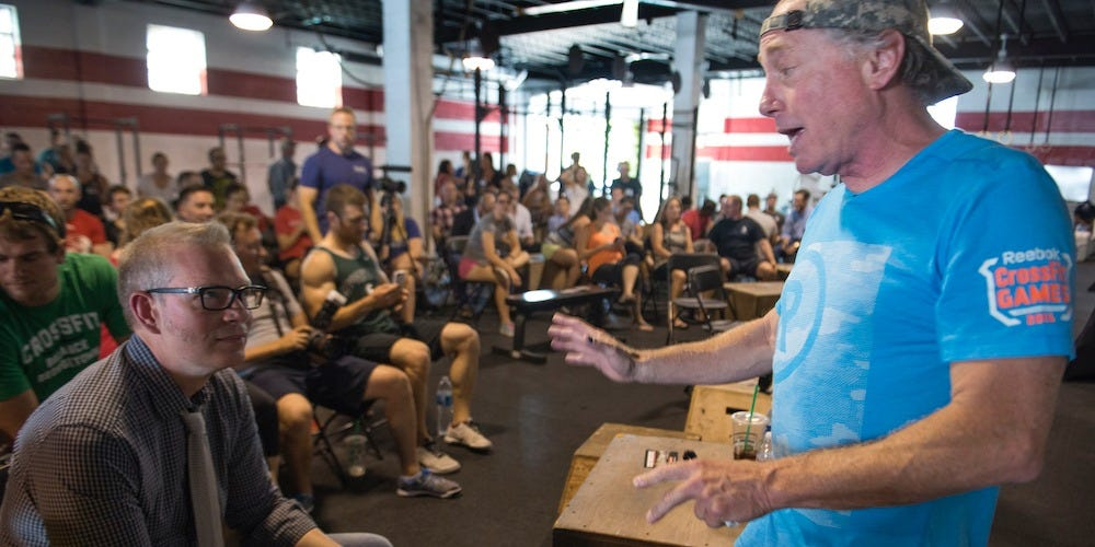 AUDIO: Sources allege clip reveals CrossFit founder Greg Glassman threatening woman