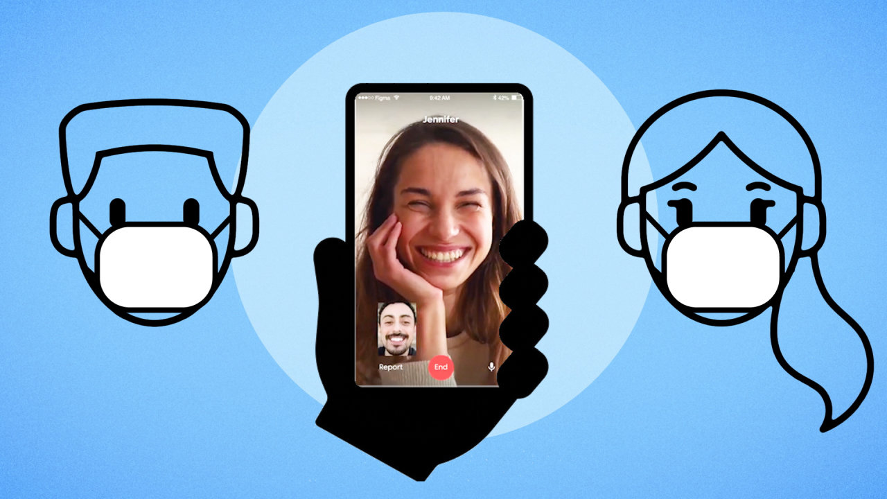 Can't Actually Meet Up? Dating Apps Pivot to Video