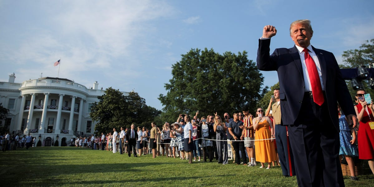 Trump hosts elaborate July 4 event amid rising COVID-19 cases