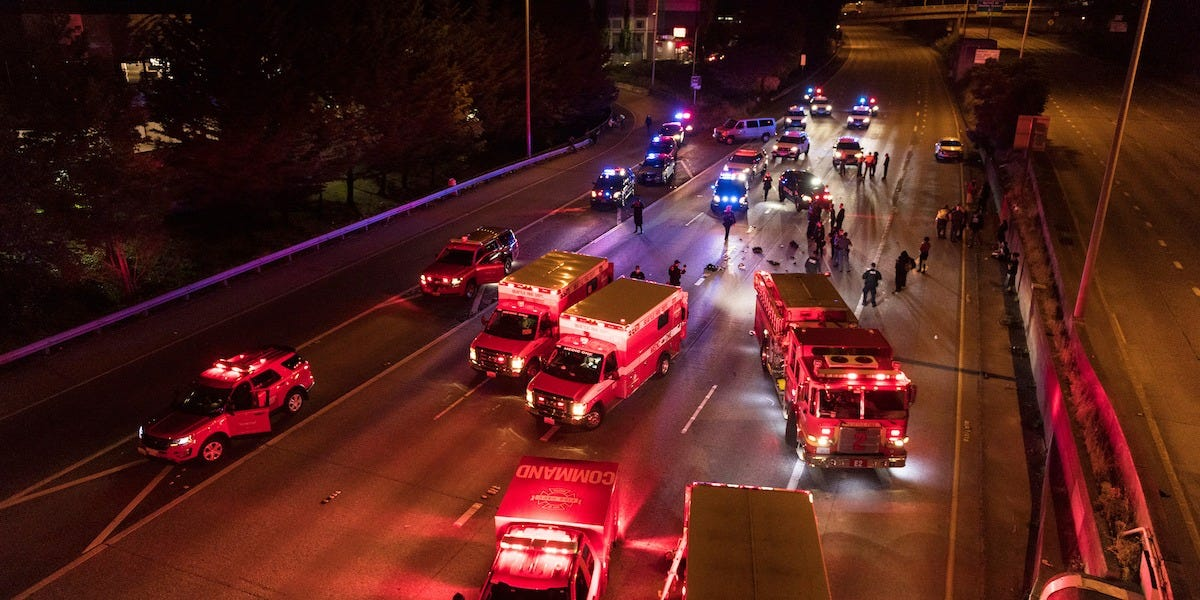 Seattle: 1 dead, 1 in ICU after car drives at protesters