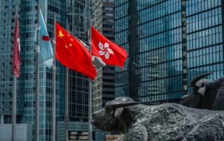 Chinese Tech Firms Get Trading Boost From Hong Kong Listings