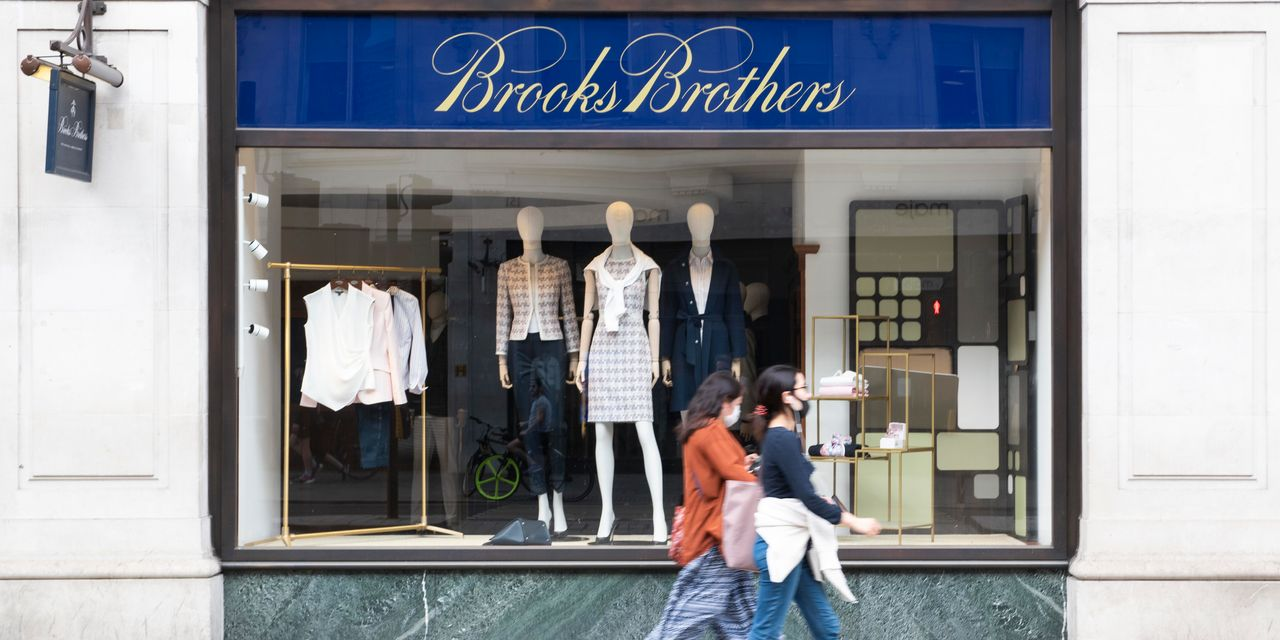 Brooks Brothers, Hurt by Casual Fridays and Coronavirus, Files for Bankruptcy