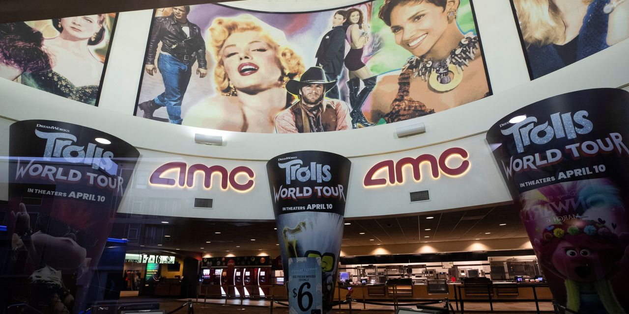 Cinema Chain AMC Inks Financing Deal to Help It Survive Pandemic
