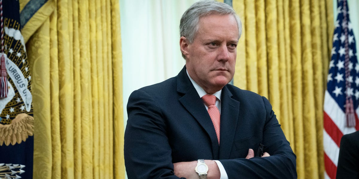 Mark Meadows fed information to suspected leakers: Axios