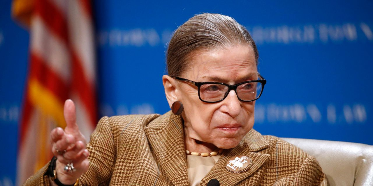 Justice Ruth Bader Ginsburg Is Hospitalized for Possible Infection
