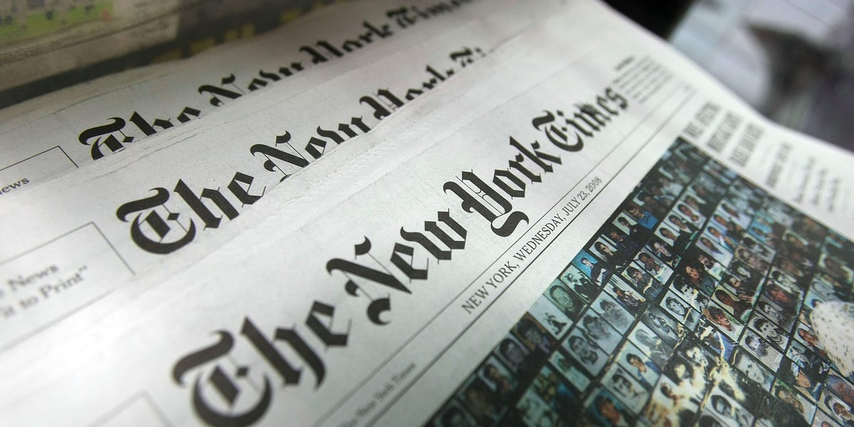 New York Times will move its digital news operation out of Hong Kong