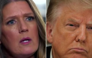 President Trump's niece Mary Trump taunted her uncle on Twitter by boasting about higher TV ratings