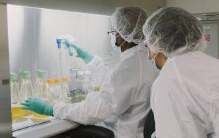 Scientists Work to Produce Covid-19 Treatments Under New Conditions