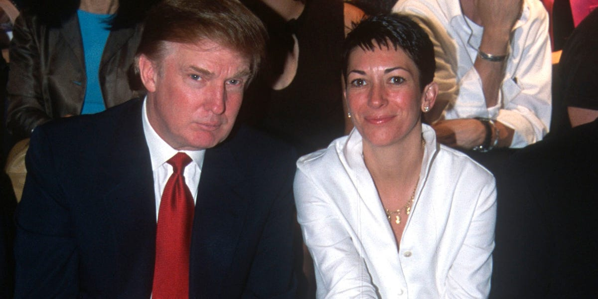 'I wish her well': Trump on sex trafficking suspect Ghislaine Maxwell